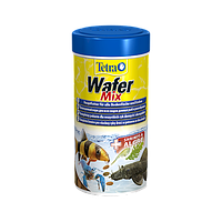 Tetra Wafer Mix Высококачественный сбалансированный питательный корм для донных рыб и ракообразных