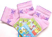 Детские носки в сетку для маленьких розовые