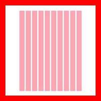 Полоски бумаги для квиллинга, цвет розовый, 5x297 мм, 160 г/м2, 100 шт