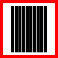 Полоски бумаги для квиллинга, цвет черный, 5x297 мм, 160 г/м2, 100 шт
