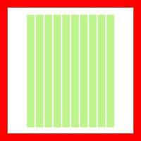 Полоски бумаги для квиллинга, цвет зеленый пастельный, 5x297 мм, 80 г/м2, 200 шт