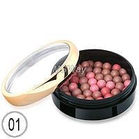 Golden Rose - Румяна шариковые Ball Blusher 27г (тон 01 розово-натуральные)