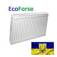 Радиатор стальной EcoForse 500*500 / 22 тип (Украина)