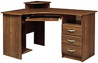 """Стол письменный угловой, мдф, """"Мебель-Сервис"""""""