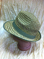 Мужская шляпа популярной формы из пшеничной соломки