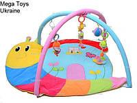 Детский развивающий коврик в сумке