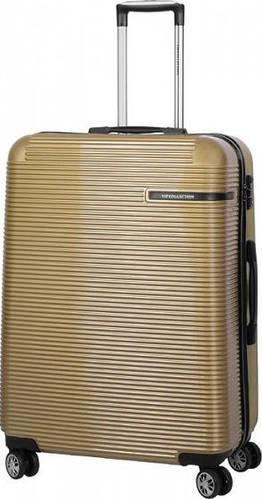 Вместительный чемодан на 4-х колесах 102 л Vip Collection Maldivas 28 Gold MDS.28.gold, золотой