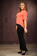 Женская блуза-туника больших размеров (рр 48-94)