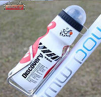Спортивная бутылка пластиковая Ride Life / цвет: белый / емкость 650 мл.