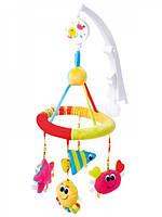 Мобиль карусель на кроватку  Цвета океана  Canpol Babies 68/021