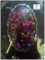 Фольга эффект битого стекла самоклеящаяся №10