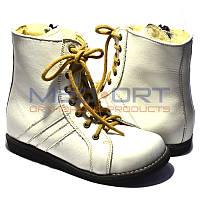 Зимние ортопедические ботинки для детей Wik 13-10 Белые