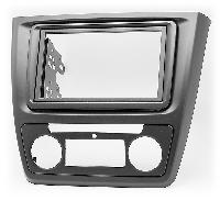 2-DIN переходная рамка SKODA Yeti 2009-2016 (Auto Air-Conditioning),CARAV 11-495