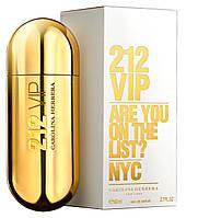 Женская парфюмированная вода Carolina Herrera 212 VIP Каролина Херрера 212 Вип