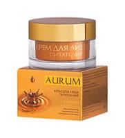 Крем для лица питательный с золотом, 45г, Aurum, БЕЛИТА-М