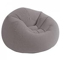Надувное кресло Intex Beanless Bag Chair 107х104х69 см.