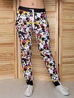 """Подростковые брюки """"Микки и Минни"""" с 3D-принтом для девочки"""