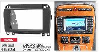 2-DIN переходная рамка MERCEDES-BENZ CL-klasse (C215) 2002-2006; S-klasse (W220) 2002-2006, CARAV 11-134