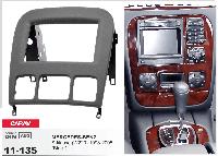2-DIN переходная рамка MERCEDES-BENZ S-klasse (W220) 1998-2005, CARAV 11-135