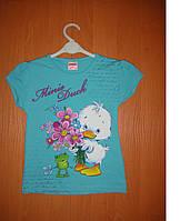 Летняя футболка для девочки 86р. 92р. 98р. 104р.