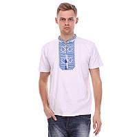 Вышитая мужская футболка-рубаха, по хорошей цене