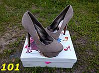 Туфли Christian_Louboutin серые
