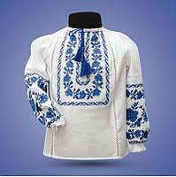 """Рубашка - вышиванка """"Ожерелье 3"""" для девочки от 2 до 12 лет"""
