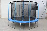 Батут Ultimar 490cm 16ft Премиум+(кольцо, лестница, брезент от дождя)