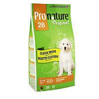 Pronature Original (Пронатюр Ориджинал) ЩЕНОК КРУПНЫХ сухой супер премиум корм для щенков крупных пород