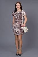 Эффектное праздничное платье с леопардовым принтом