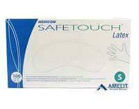 Перчатки латексные MEDICOM SAFE TOUCH (Медиком Сейф Тач), 100шт/уп, размер XS
