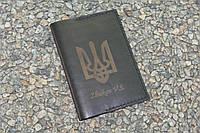 Обложка на паспорт из натуральной кожи 10624