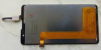 Lenovo S8 S898t дисплей LCD + тачскрин чорний оригінал якісний
