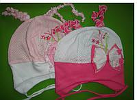 Летняя шапочка для девочек размер: 46-48