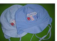 Летняя шапочка для мальчика размер: 46-48