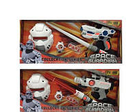 Набор оружия Космический воин Star Wars: меч, бластер, маска, часы, свет, звук