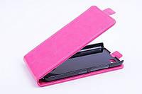 Чехол флип для Blackberry Z30 розовый