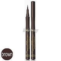 Golden Rose - Подводка-фломастер для глаз Precision Eyeliner (brown, коричневая)