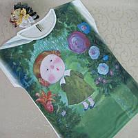 Футболка женская, 40-48 р/р. Турция. Женские футболки , блузки из трикотажа женские, фото 1