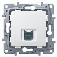 Розетка информационная RJ45 кат. 6 UTP Legrand Etika белая