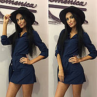 """Очень модное женское платье-рубашка """"Летняя Барби"""" 42-60р РАЗНЫЕ ЦВЕТА!"""
