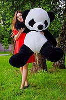 Плюшевая панда 140 см. Мягкая ирушка большая панда