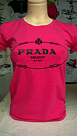 Женская футболка бренд Prada