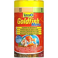 Tetra Goldfish Menu Сбалансированный корм - меню 4 в 1 для золотых рыбок и других холодноводных рыб
