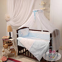 Набор в кроватку Darling голубой