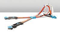 Трек Хот Вилс серии Соедини все треки (Hot Wheels Track Builder System Stunt Kit Playset)