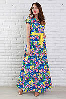 Прекрасное платье в цветочный принт