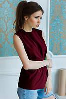 Блуза женская Элин бордо , женская одежда