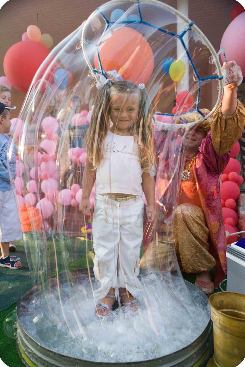 Крупные пузыри своими руками