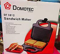 Гриль – тостер, сэндвичница Domotec DT- 1012